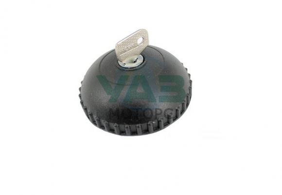 Пробка бака с ключом (метал) Уаз 469, 3151 (широкая горловина) (Сервис-штамп Ульяновск) 0469-00-1103010-01