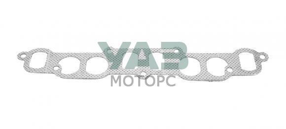 Прокладка коллектора (впуск / выпуск) (облицовка металл) ЗМЗ 402, УМЗ 417, 421 (Антаресс / Ульяновск) 24.1008080