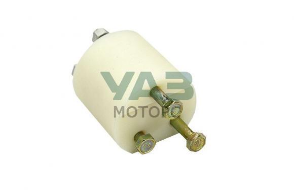 Проставка (60 мм) привода рычагов РК (проставка / болты, гайки) Уаз 452, 3741 (Алком)