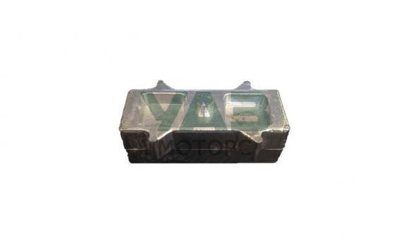 Проставка (подкладка) рессора-мост УАЗ Буханка (60х45х120 мм / алюминий)