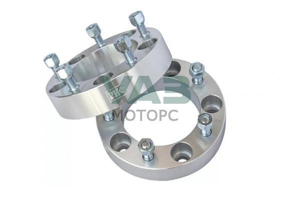 Проставки колесные РИФ (комплект 2 штуки) 5x139.7 (центральное отверстие 108 мм / толщина 38 мм / 14x1.5) (JD05451)