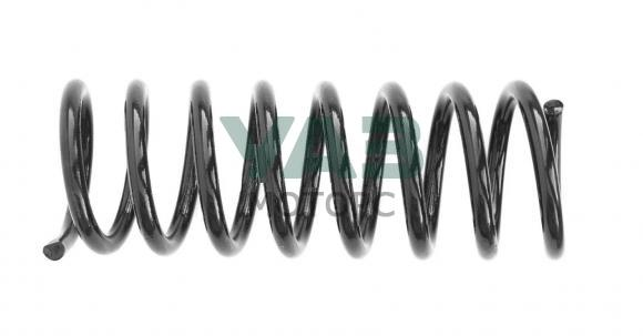 Пружина передней подвески Уаз Патриот (двигатель Iveco / желтая маркировка / виток d 15.4) (ППРЗ / Пермь) 2966-00-2902712-01