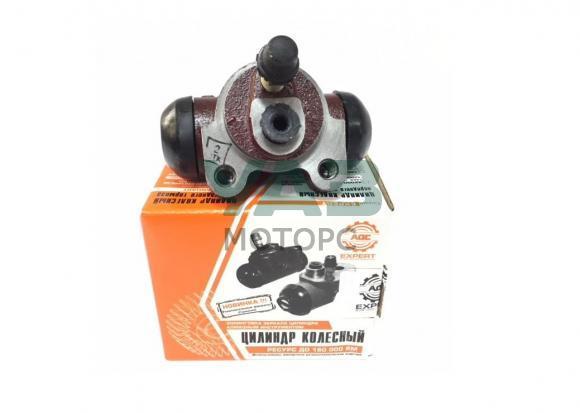 Рабочий тормозной цилиндр задний Уаз (самоподводящийся, под штуцер 10 мм, поршень d25 мм) (ОАО АДС Эксперт) 42000.3151-00-3502040-11
