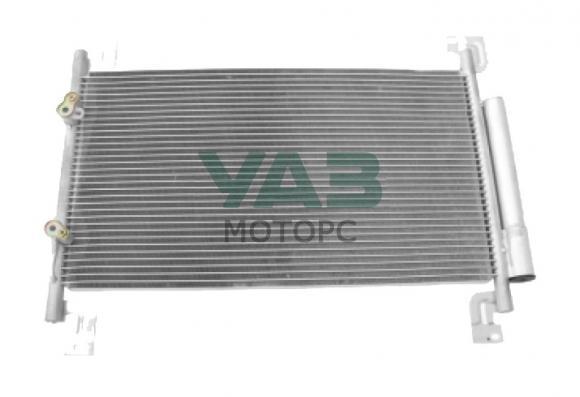 Радиатор кондиционера (с конденсатором) Уаз Патриот рестайлинг 2017 года (ОАО УАЗ) 3163-00-8131020-50