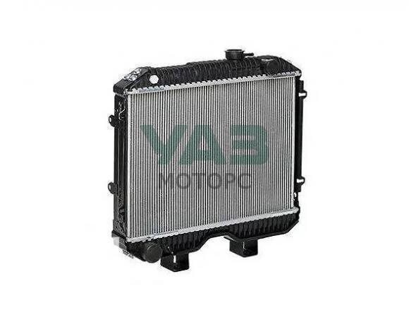 Радиатор охлаждения (2х рядный / алюминиевый) ЗМЗ 409, УМЗ 4213 (Патриот без кондиционера) (Bautler) 3160-00-1301010-97