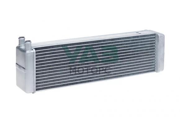 Радиатор отопителя алюминиевый Уаз 452, Хантер (прямые патрубки d-20 / 2х рядный) (Стамос / Иран) 3741-8101060-30