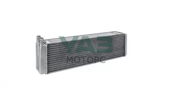 Радиатор отопления алюминиевый Уаз 452, Хантер (прямые патрубки d-16 / 2х рядный) (Стамос / Иран) 3741-8101060-10