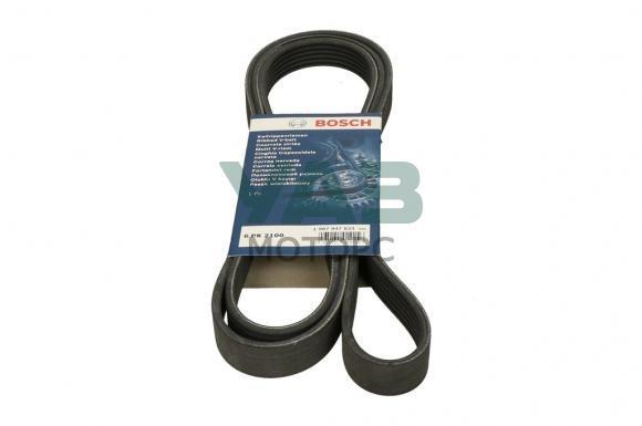 Ремень привода агрегатов (6рк2100) Уаз Патриот, Пикап (с кондиционером) (Bosch 1 987 947 833) 3163-00-1308020-33