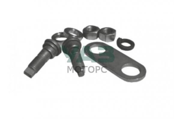 Ремкомплект опорных пальцев крепления задних колодок (барабаны) Уаз (АДС №007) 20-3501068