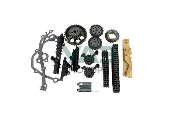 Ремкомплект привода ГРМ ЗМЗ 409 Евро 3 (цепи Ditton / механические натяжители / звёзды / прокладки) (Русмаш / 08-1006010-E3) 406.3906625-05