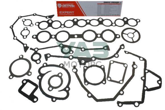 Ремкомплект прокладок двигателя ЗМЗ 405, 406, 409 Евро 0, 2 (16 штук) (АДС №050) 40624.3906022