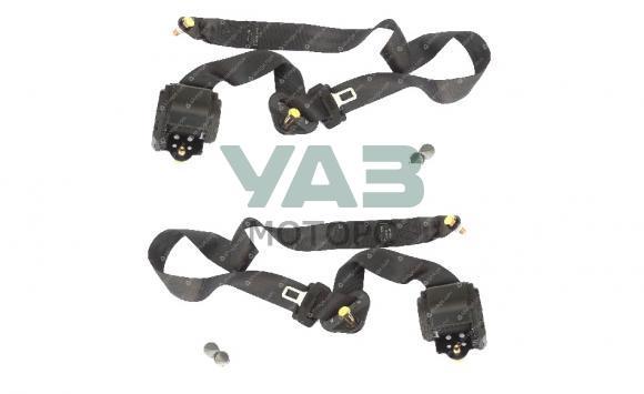 Ремни безопасности передние (комплект 2 штуки / левый / правый) Уаз Патриот (ООО Сибеко) 3163-00-8217013/12-05