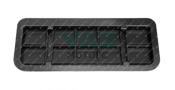Решетка вентиляции с клапанами (выход под задним бампером) Уаз Патриот с 2018 года (ОАО УАЗ) 3163-30-8104398