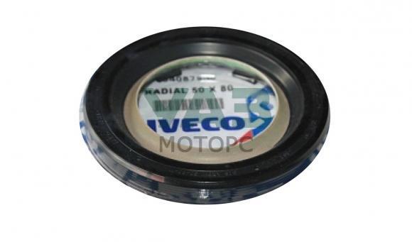 Сальник коленвала передний (двигатель Iveco / F1A) Уаз Патриот (S.P.A. Италия / 504087648) 0088-00-5040876-48