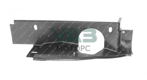 Щиток облицовки радиатора (левый) Уаз Патриот с 2008 года (ОАО УАЗ) 3163-10-8401515-00