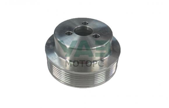 Шкив (помпы) водяного насоса (алюминиевый / d= 108 мм / стандарт / одинарный) ЗМЗ 409 (ООО РУСМАШ) 40624.1307053