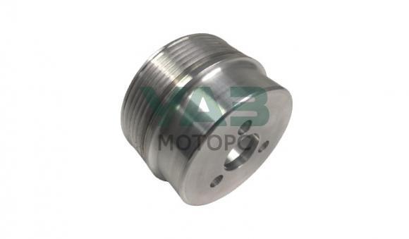Шкив (помпы) водяного насоса (алюминиевый / d=88 мм уменьшеный диаметр / одинарный) ЗМЗ 409 (ООО РУСМАШ) 40624.1307053
