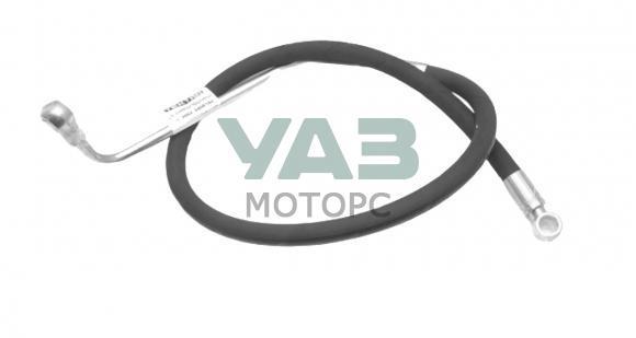 Шланг ГУРа высокого давления (кольцо-кольцо / изогнутый / УМЗ 4213 инжектор) Уаз 3962, 452 (Автозапчасть / Чамзинка) 3962-00-3408150-00