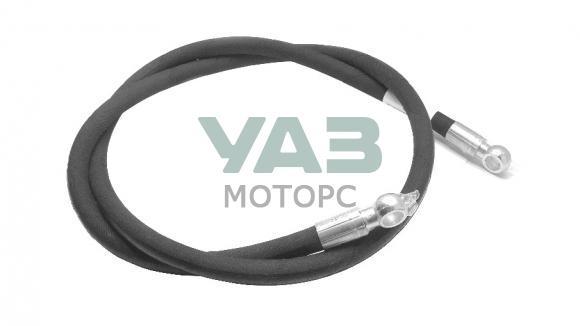 Шланг ГУРа высокого давления (кольцо-кольцо / ЗМЗ 4091 / 1570 мм) Уаз 452, 3741 (Ульяновск) 0452-3408150