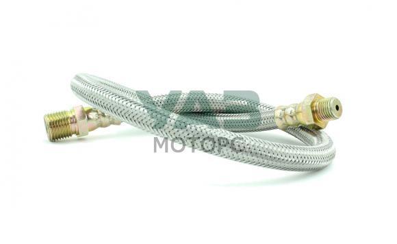 Шланг тормозной передний (рама-колесо / армированный) Уаз 469, 452 (RedBTR) 469-3506060