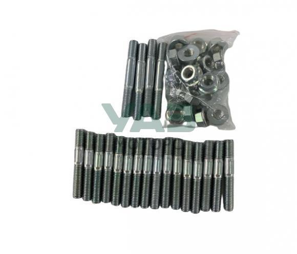 Шпильки крепления распредвалов ЗМЗ 409 Евро 0, 2 (комплект с гайками / 10 опор валов) (Уаз Моторс)