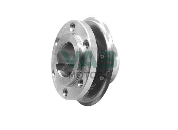 Ступица шкива коленвала с металлической пластиной (двигатели ЗМЗ / УМЗ) (ОАО ЗМЗ) 41-1005051