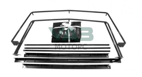 Тент с дугами Уаз Пикап (установочный комплект) (Автопошив) 2363-8508010