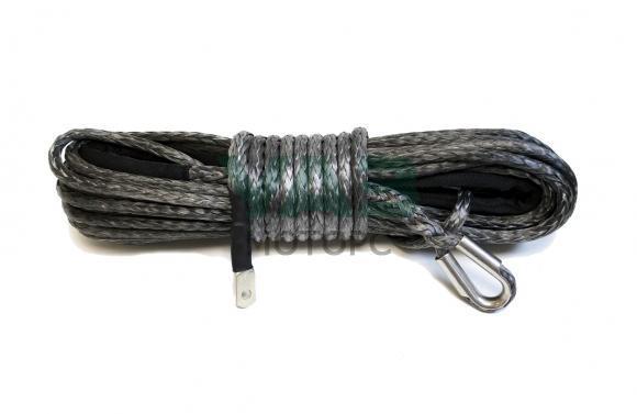 Трос для лебедки синтетический (10 мм / 25 м / усиленный) (Offroad)