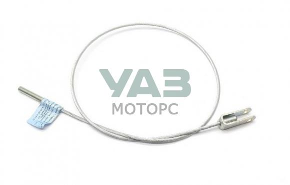 Трос ручника (стояночного тормоза) Уаз Буханка (5 ступенчатая КПП с 2013 года) (длинна 910 мм) 3741-00-3508068-30