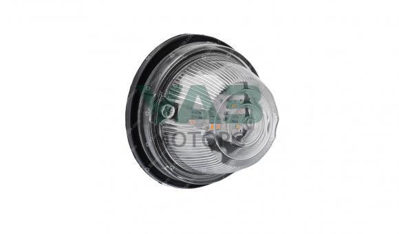 Указатель поворота светодиодный в сборе (повторитель / нового образца / белый) УП 101-3726010