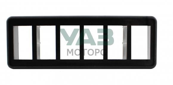 Установочная панель для крепления 6 дополнительных клавиш (переключателей) (redBTR) 809690