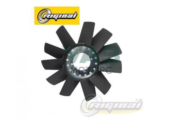 Вентилятор охлаждения (без гидромуфты) пластик (11 лопастей) ЗМЗ 409 (Н. Новгород) 390994-1308010