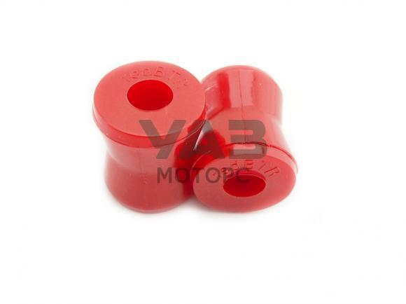 Втулки амортизатора нижние полиуретан (стабилизатора заднего / комплект 2 штуки) УАЗ (Патриот, Хантер, Профи, Буханка) (RedBTR) 3160-2905432