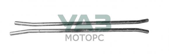 Защита порогов (нержавейка) УАЗ 3163, Патриот (с 2015 года) (ОАО УАЗ) 3163-00-4715021-00