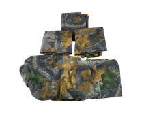 Чехлы на сидения (лесной камуфляж / грязезащитные / универсальные / комплект передние и задние) (Уаз Моторс)