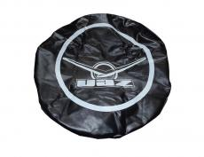 Чехол запасного колеса (дермантин) черный с резинкой (Ульяновск) 3151-00-3901850-00