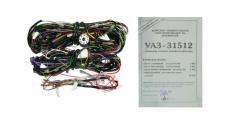 Электропроводка Уаз 31512 (универсальная / на всю машину) (АККОМ)