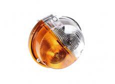 Фонарь передний Уаз 469, Хантер, Буханка (светодиодный / жёлто-белый) (ПФ130А) 3741-00-3712010-00
