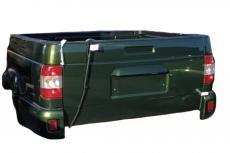 Грузовой отсек Уаз Пикап в сборе (ЗЛМ / зелёный металлик) (ОАО УАЗ) 2363-5000412-95