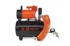Компрессор электрический Агрессор с ресивером на 3 литра (12в / 35 л/мин) AGR-3LT