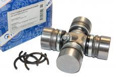 Крестовина карданного вала с масленкой и стопорными кольцами УАЗ (d 30) (Прамо) (0469-00-2201025-01)