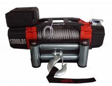 Лебедка redBTR серия Pro 12000lb (12v, 5443 кг, редуктор 218:1) интегрированный блок, стальной трос