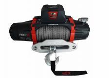 Лебедка redBTR серия Pro-Х 9500lbS (12v, 4307 кг, редуктор 150:1) синтетический трос