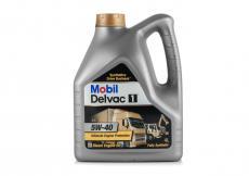 Масло моторное (для дизельных двигателей) Mobil Delvac 1 5W40 синтетическое (4 литра) 152656