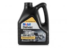 Масло моторное (для дизельных двигателей) Mobil Delvac XHP Extra 10W40 синтетическое (4 литра)  152657