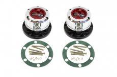Муфты подключения переднего моста (хабы колесные) redBTR УАЗ (серия Х / усиленные)