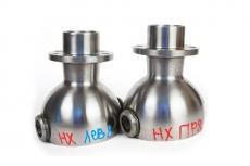 Опора шаровая (ШОПК) усиленная кастор +8 (комплект 2 штуки) для мостов Тимкен (нехромированные) (Ваксойл / Бийск) 0452-00-2304012-00