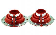 Пыльники поворотного кулака (полиуретан / комплект 2 штуки) Уаз (мост Спайсер, Тимкен гибридный) (redBTR / 550500)