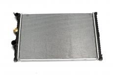 Радиатор охлаждения алюминиевый (2х рядный / крепление пластины / 26 мм) Уаз Патриот с 2019 года (Стамос / Иран) 3163-00-1301010