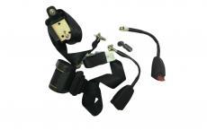 Ремени безопасности передние Уаз 469 (комплект 2 штуки) (СКМ / Алатырь / 458234.019/-019-01) 3151-8217010